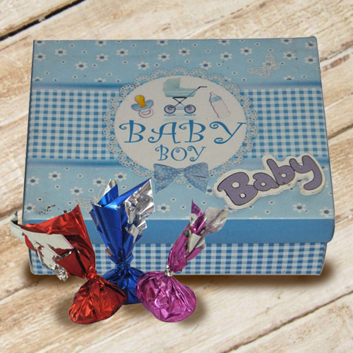 Imparting Emotions Baby Boy Homemade Chocolate Box