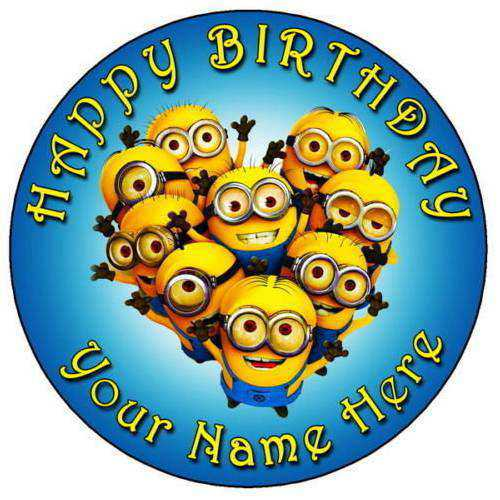 Attractive Minions Cake for Kids