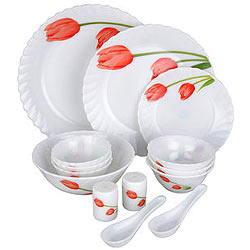 Dinner Time with La Opala Melody 15 Pieces Dinner Set