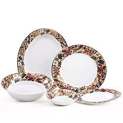 Night Time Special Treat with Luminarc Dinner Set 21-piece