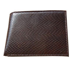 Fashionable Spice Art Gents Wallet in Brown Colour