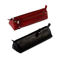 Genuine leather pencil case from Leather talks
