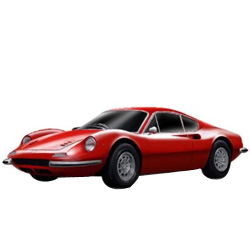 Engrossing Briskness Ferrari Model Car from Bburago