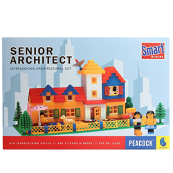 Super Architect - Game of interlocking architectural set