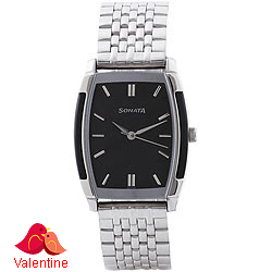 Appealing Sonata Analog Watch for Mens