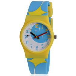 Titan Zoop Brings Dynamic Blue and Yellow Wrist Watch for Kids
