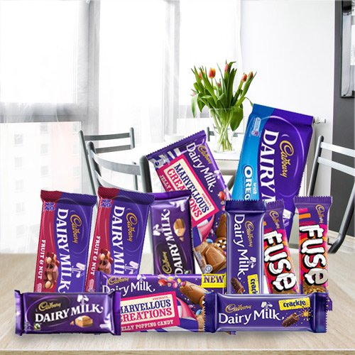 Gift Assortment of Cadbury Chocolates