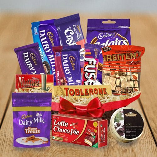 Lip-smacking Chocolates Assortment Hamper