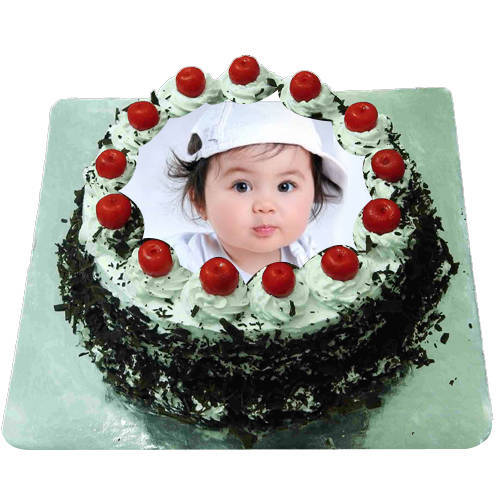 Extraordinary Black Forest Photo Cake