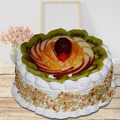 Hankering's Privilege 1 Kg Fresh Fruit Cake