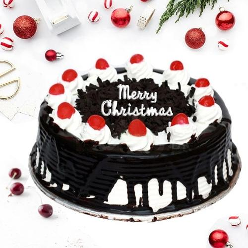 Delicious Black Forest Cake for X-mas