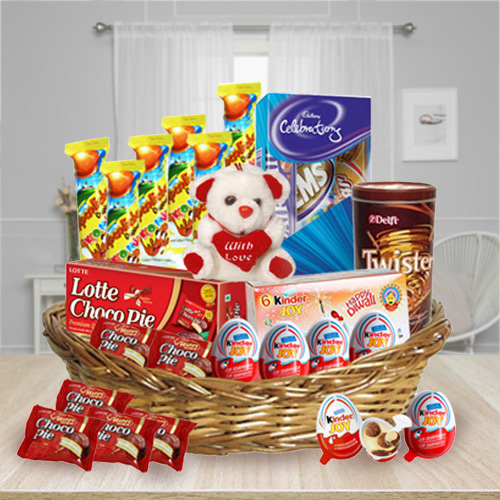 Delectable Kids Chocolates Basket