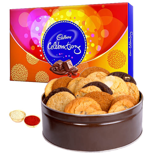 Delectable Cadbury Celebrations N Mixed Cookies