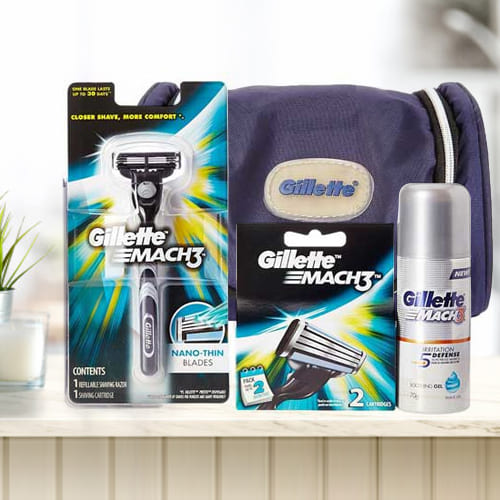 Marvelous Gillette Mach3 Travel Pack for Men