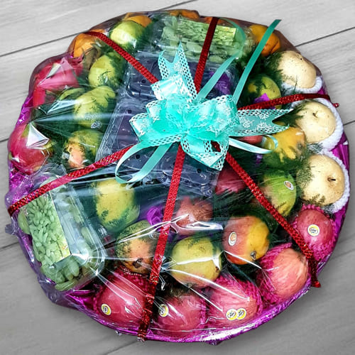 Garden Fresh Seasonal Fruits Basket