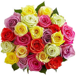 Wonderful Assorted Roses Bouquet