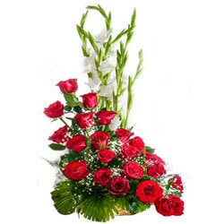 Special Arrangement of Red Roses