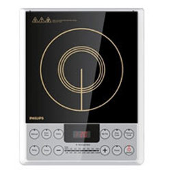 Exclusive Black Induction Cook Top Made of Micro Crystal Plate from Philips