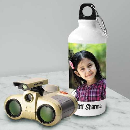 Exclusive Personalized Photo Sipper with Binocular