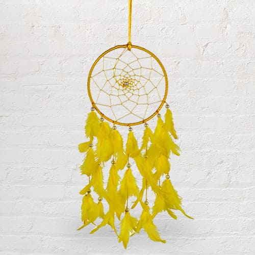 Handmade Beaded Dreamcatcher Feng Shui Showpiece