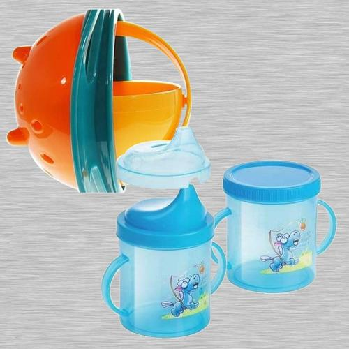 Exclusive Non Spill Feeding Gyro Bowl and Sipper Cup Combo