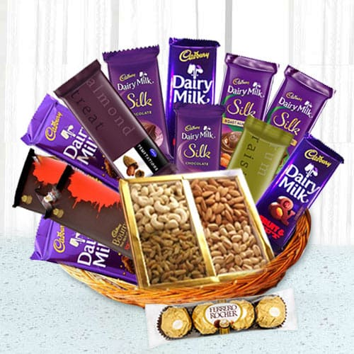 Precious Occasional Chocolate Hamper Basket
