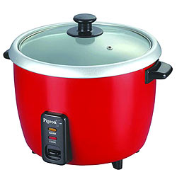 Pigeon Electric Rice Cooker Joy 1.0 Ltr Single Pot