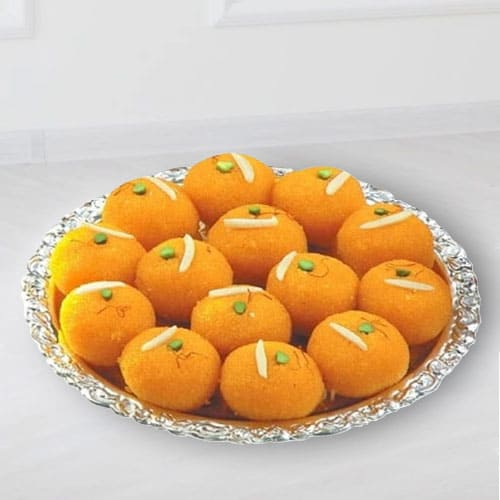 Lip Smacking Motichoor Laddu from Haldirams