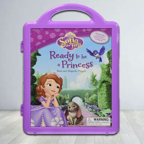 Amazing Disney Princess Sofia Story Book N Play Set