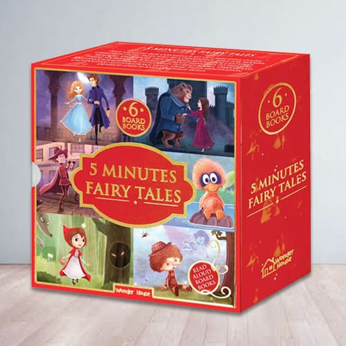 Amazing 5 Minutes Fairy Tales Bookset for Kids