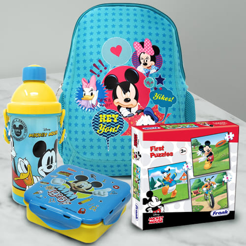 Alluring Disney Mickey Mouse Fun Hamper for Kids