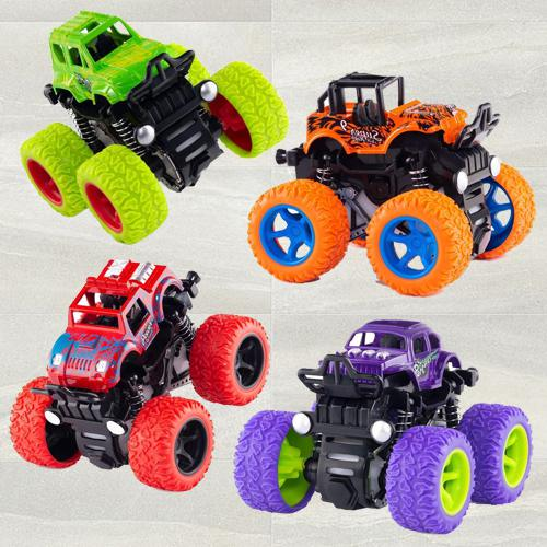 Exclusive Monster Truck Pull Back Car for Toddlers
