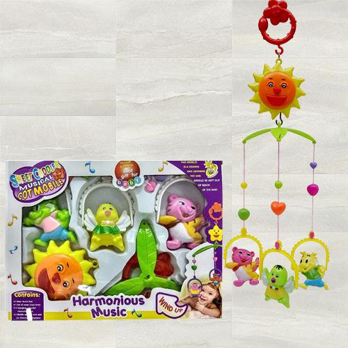 Wonderful Hanging Rattle Toys With Cartoons for Toddlers