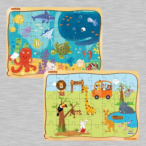 Marvelous Puzzle Set for Kids