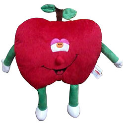 Play & Pets Cuddly Plush Toy Apple