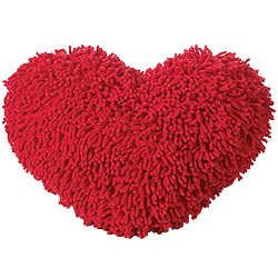 Cuddly & Romantic Red Heart Shape Love Cushion