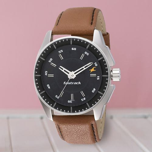 Attractive Fastrack Black Magic Analog Mens Watch