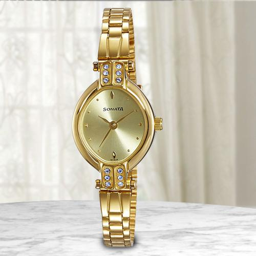 Wonderful Sonata Analog Womens Watch